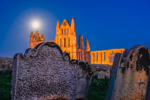 Whitby Abbey And Gravestones Whitby Photography Glenn