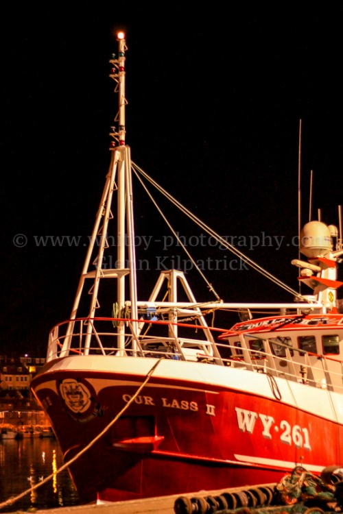 Whitby Trawler Our Lass