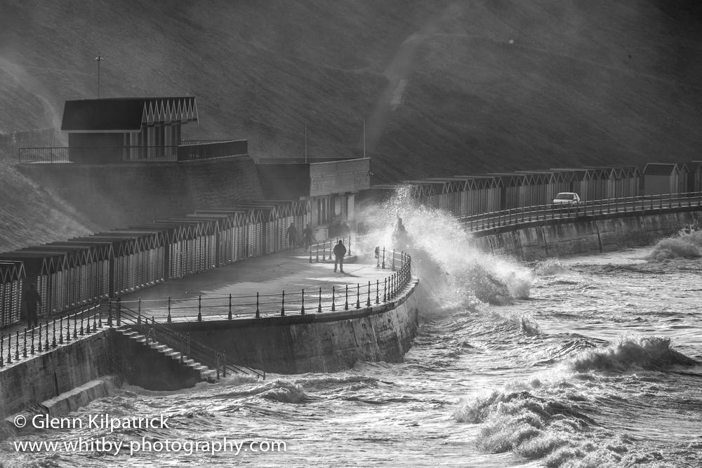 Rough Seas At Whitby