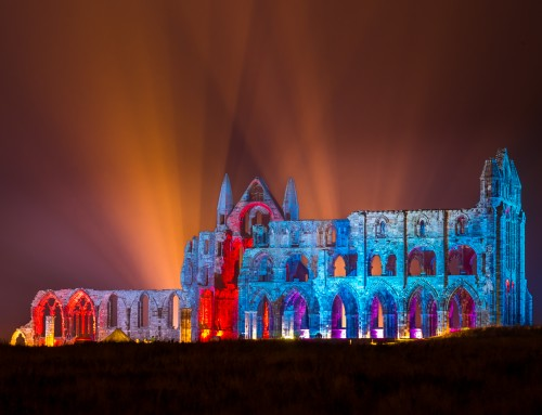 The Illuminated Whitby Abbey (Dates)