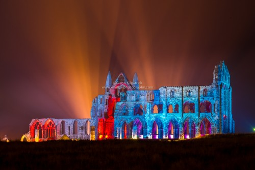 An Illuminated Whitby Abbey