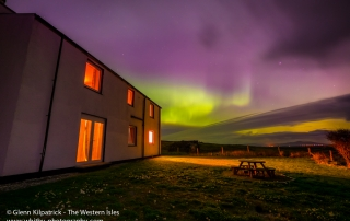 The Northern Lights From North Uist Outer Hebrides
