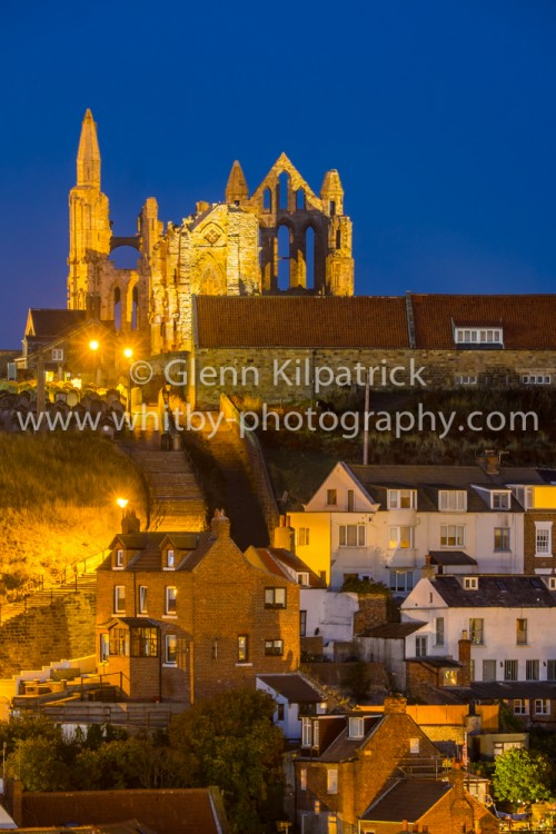 Whitby Abbey from Khyber Pass