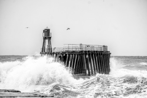 Whitby East Pier Island