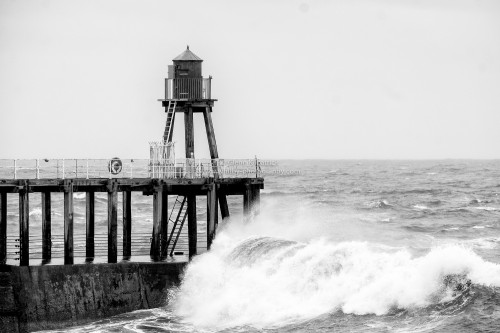 Waves At West Pier End