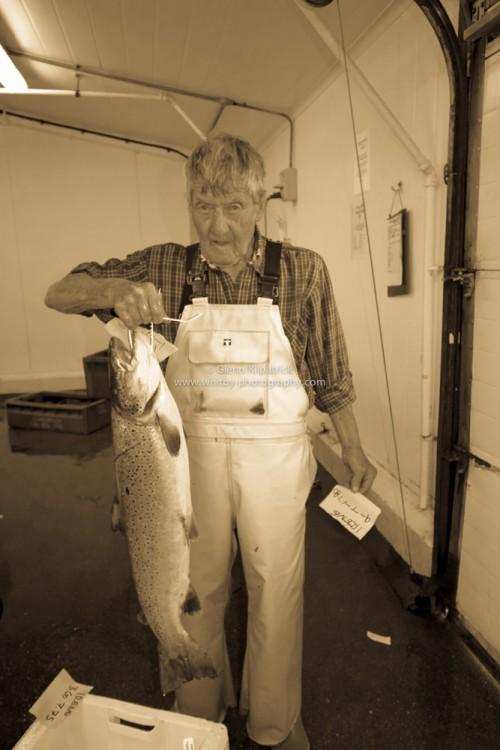 Bob Marsden - Whitby Salmon Fisherman
