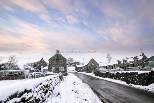 Snow At Lealholme On The North York Moors