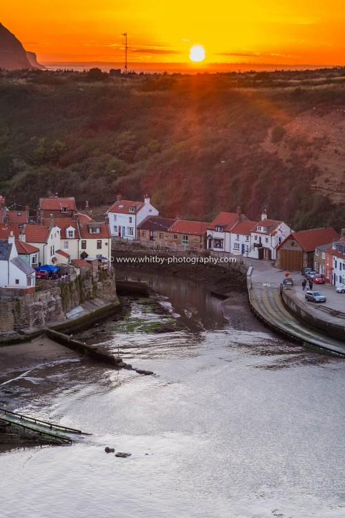 Cowbar Sunset (Staithes)