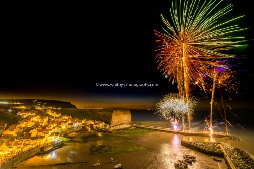 Staithes Village Firework Display