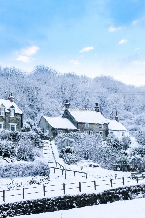 A Snow Covered Tea Pot Hill In Sandsend. Taken In December 2010.