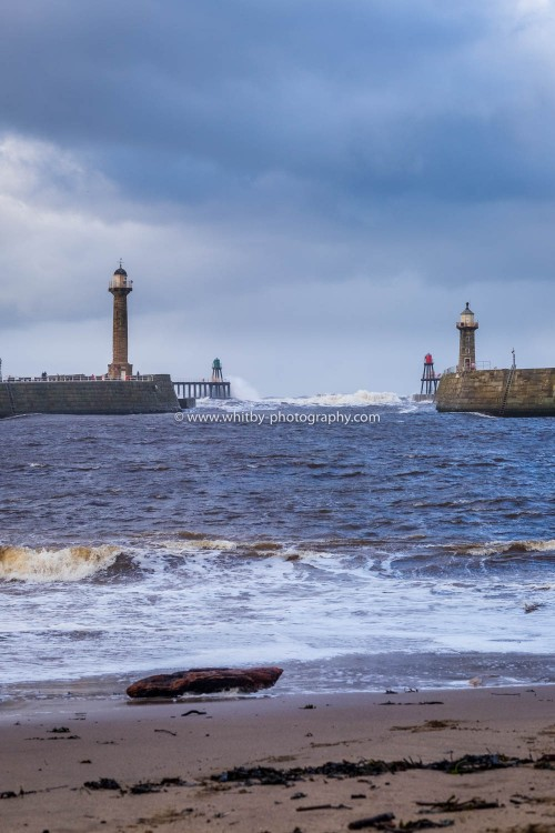 Tate Hill Sands - Where Dracula Came Ashore At Whitby