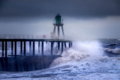 West Pier Direct Hit - Northerly Waves (1 of 1)