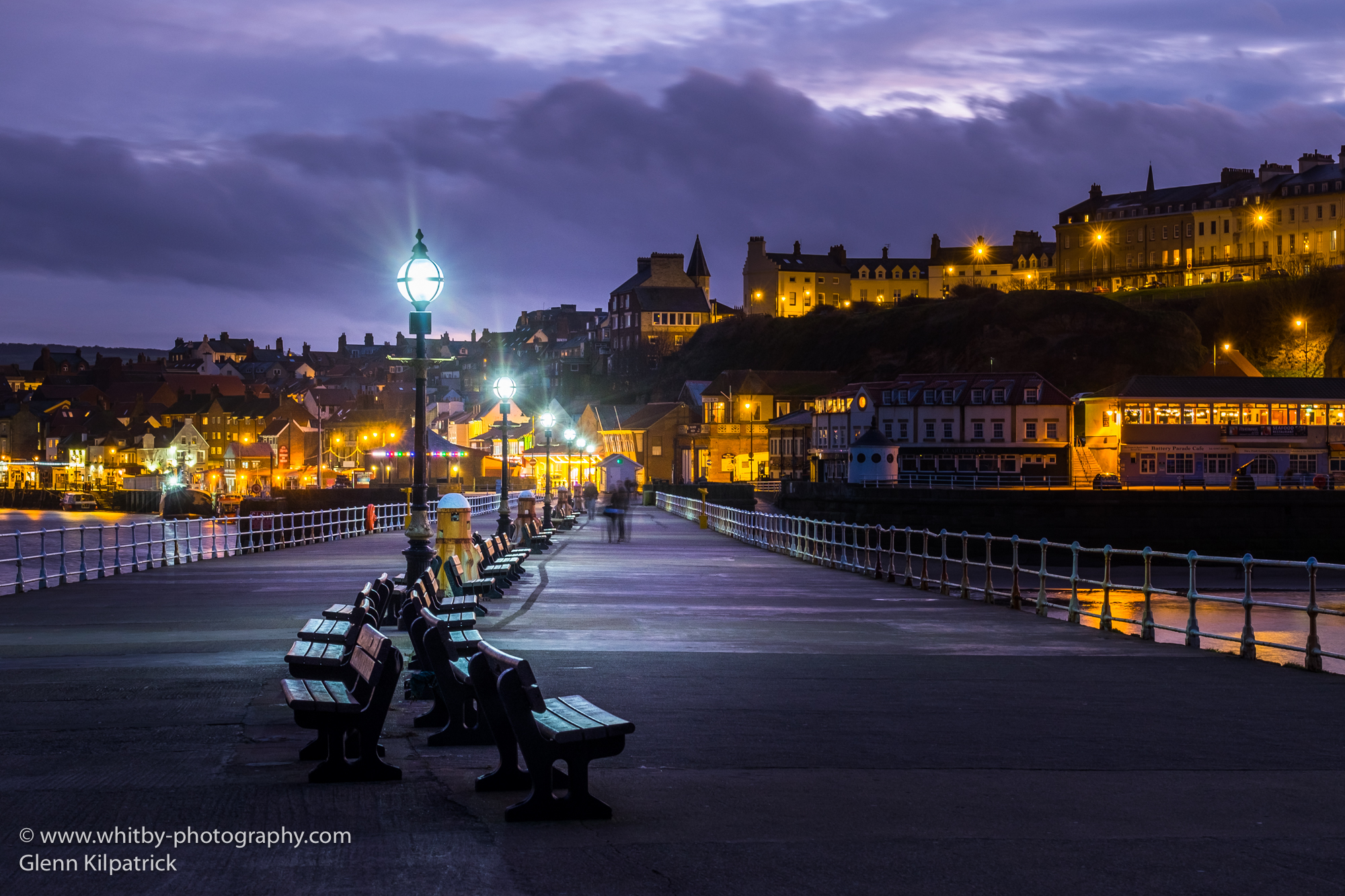 Whitby West Pier Lights