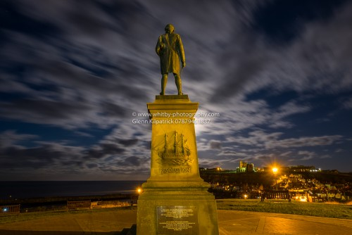Captain Cook Monument At Whitby (1 of 1)