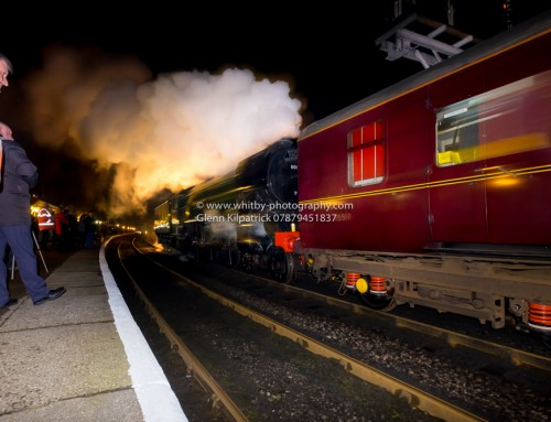 The Flying Scotsman Arrives – North Yorkshire Moors Railway