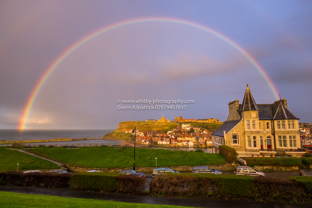 Rainbows At Whitby