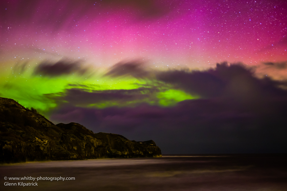 The Northern Lights From Whitby By Glenn Kilpatrick (1 of 1)-4