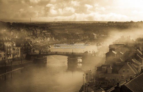 Whitby In The Mist (Sepia) Offer Finishes 11.59pm on March 27th