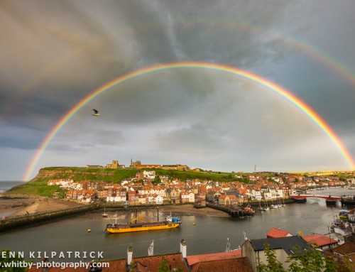 Whitby Double Rainbow Canvas – Feedback Paul Usher.