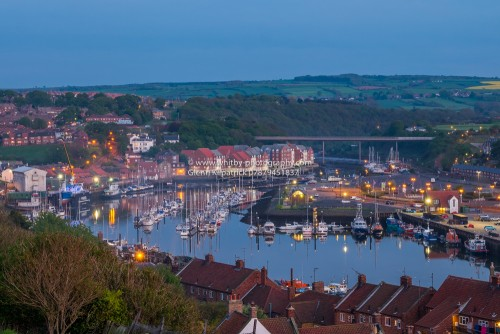 Upper Whitby Harbour, Taken At Dusk In May 2016.