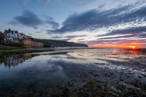 Robin Hoods Bay Sunrise And Reflections