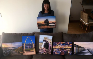 Jo Massey In Australia With Her Photographs From Whitby Photography