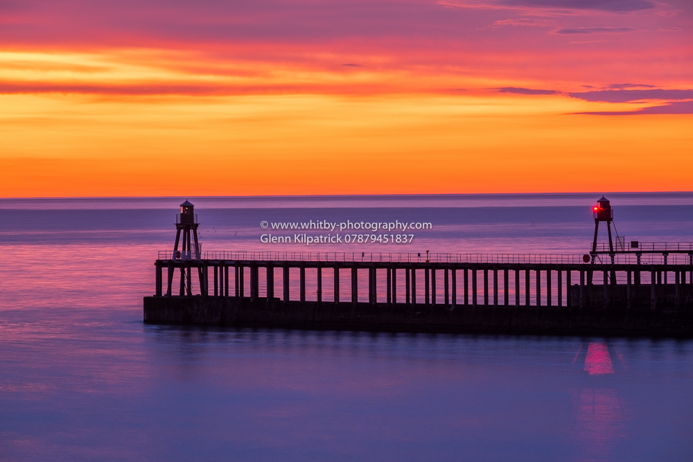 Summer Solstice Sunrise At Whitby - June 2016