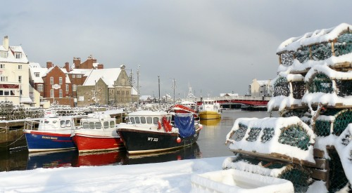 Whitby Christmas Cards By Glenn Kilpatrick