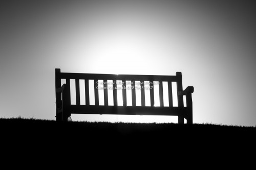 The Seat - A Lone Seat In the Mist At Whitby