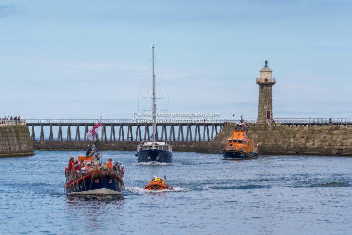 The Whitby Lifeboats Old And New