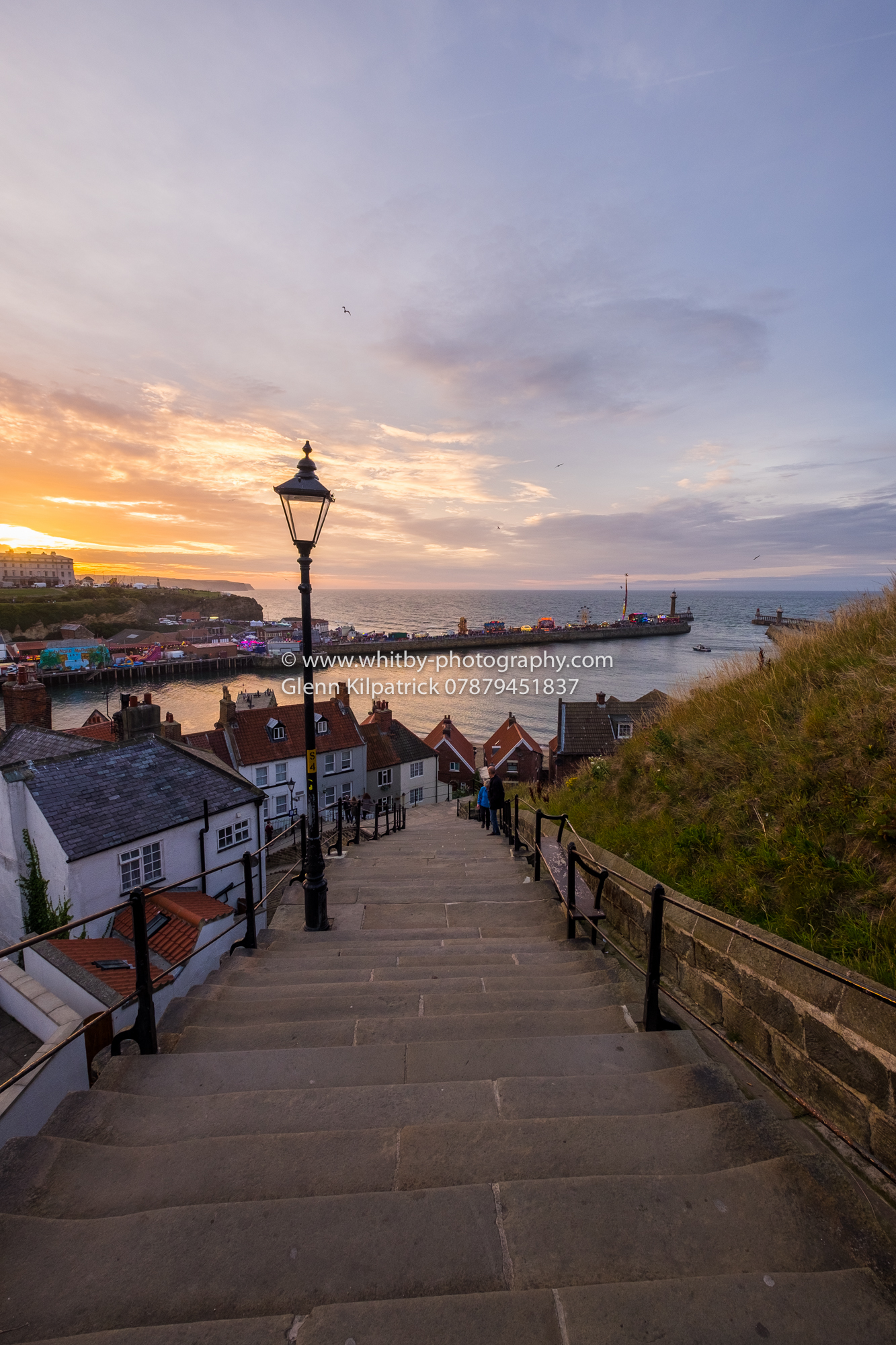 199 Steps At Whitby - Whitby Regatta Photographs For Sale