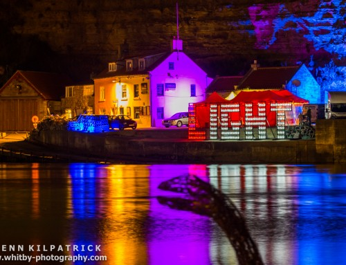 Staithes Festival – Mick Stephenson Light Fantastic Show