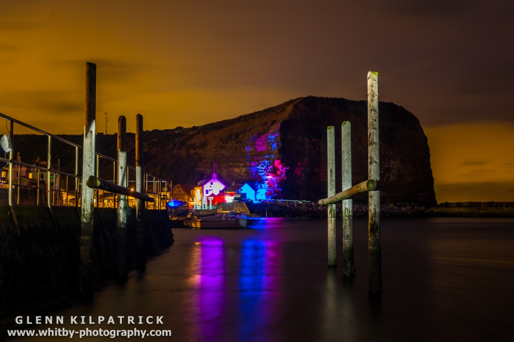 Mick Stephenson Light Fantastic At Staithes Arts Festival