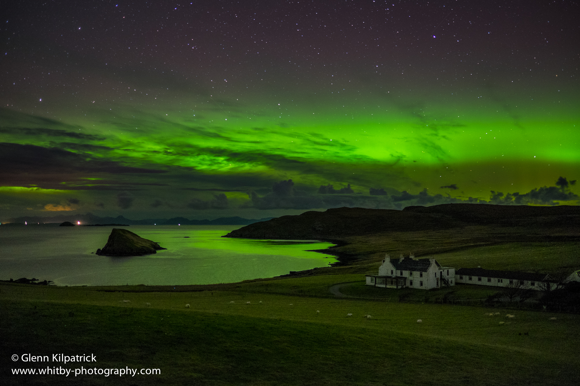 northern lights on the isle of skye whitby photography. Black Bedroom Furniture Sets. Home Design Ideas