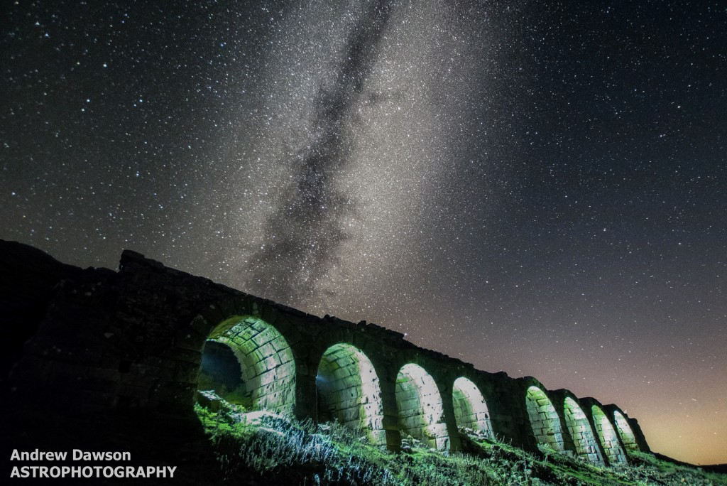 The Milky Way At Rosedale By Andrew Dawson