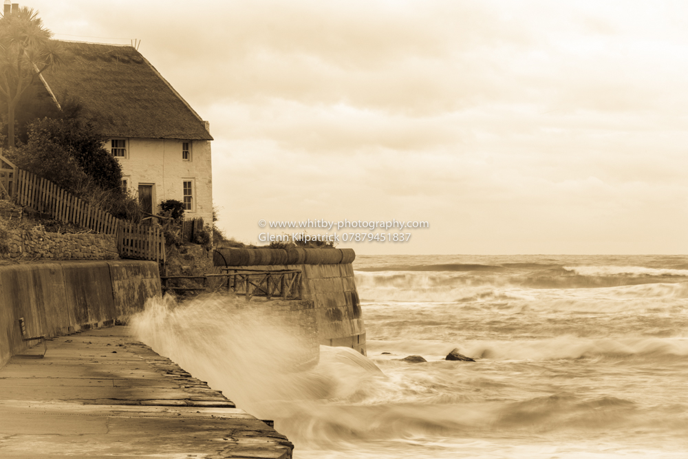 Whitby In Sepia