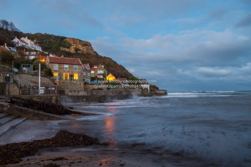 Runswick Bay At Twilight