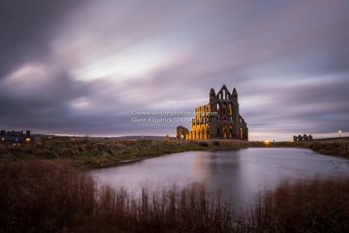 Storm Connor At Whitby Abbey. Christmas 2016