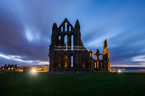 Whitby Abbey During Christmas Days Storms 2016