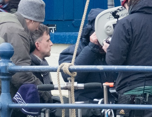 Paul Thomas Anderson Filming In Staithes Yorkshire Jan 31st 2017