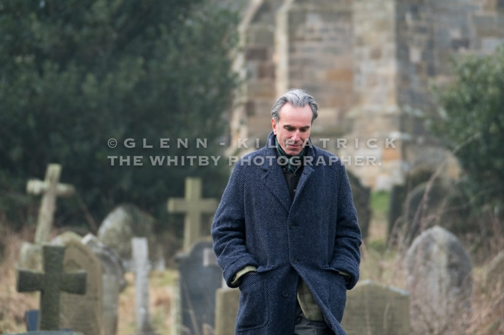 Daniel Day-Lewis Filming In Yorkshire Today Friday 27th January 2017