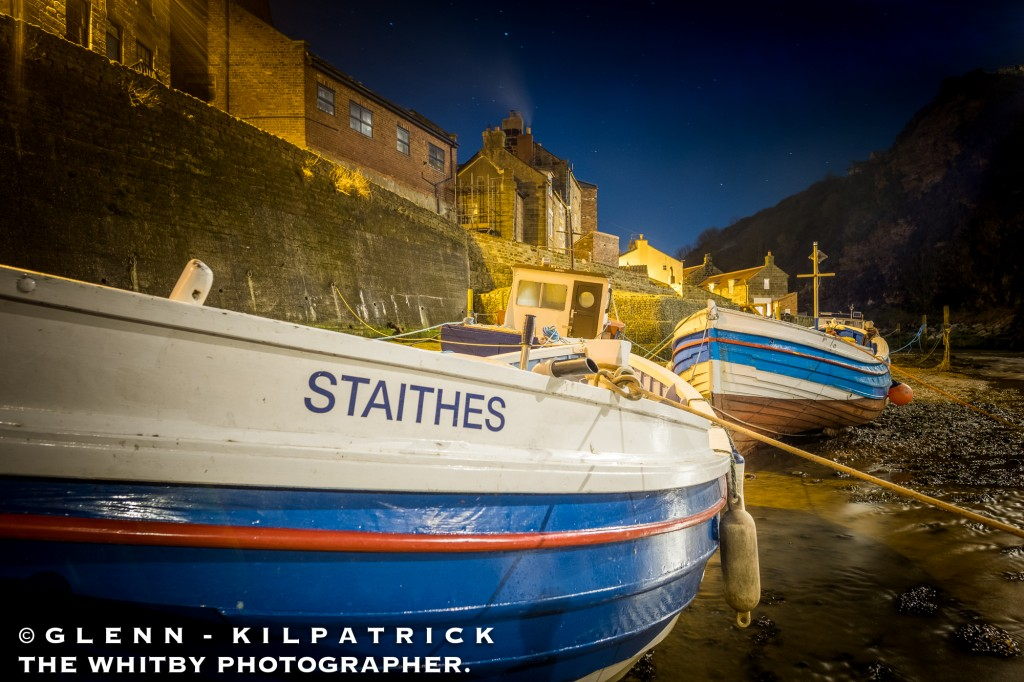 Fishing Boats Moored In The Beck At Staithes.