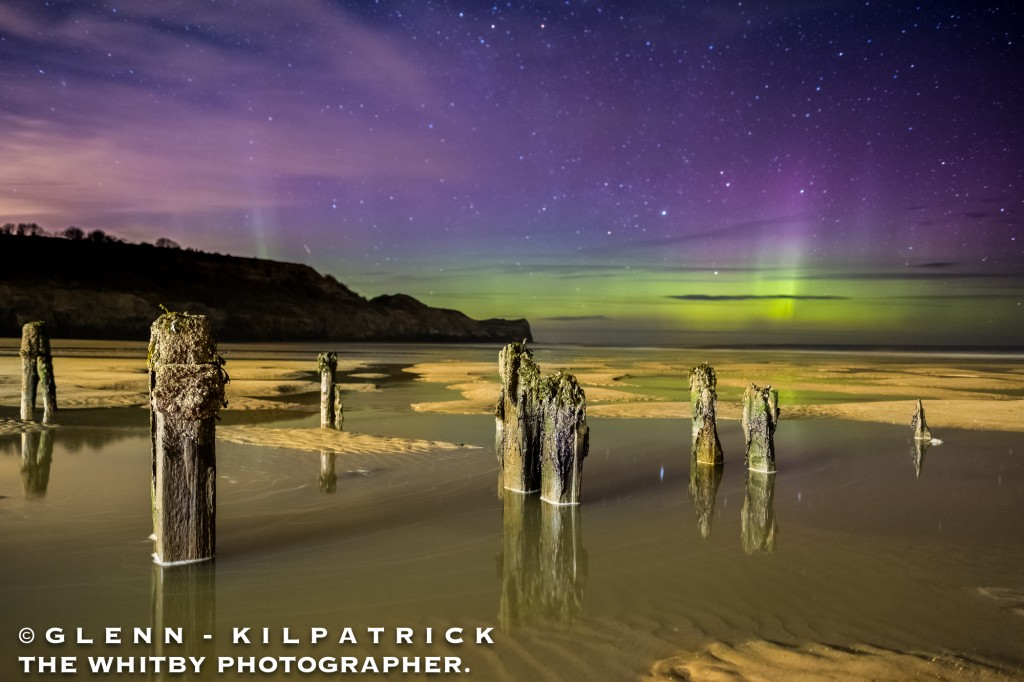 A Fantastic March Return For The Northern Lights At Whitby