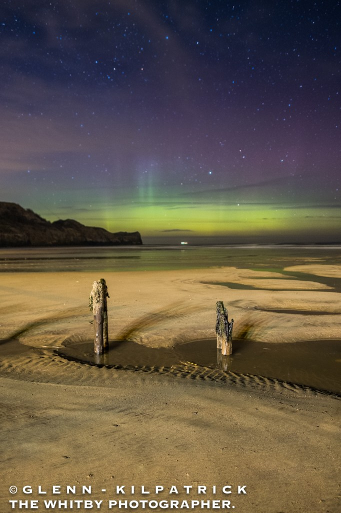 The Northern Lights At Whitby (5 of 9)
