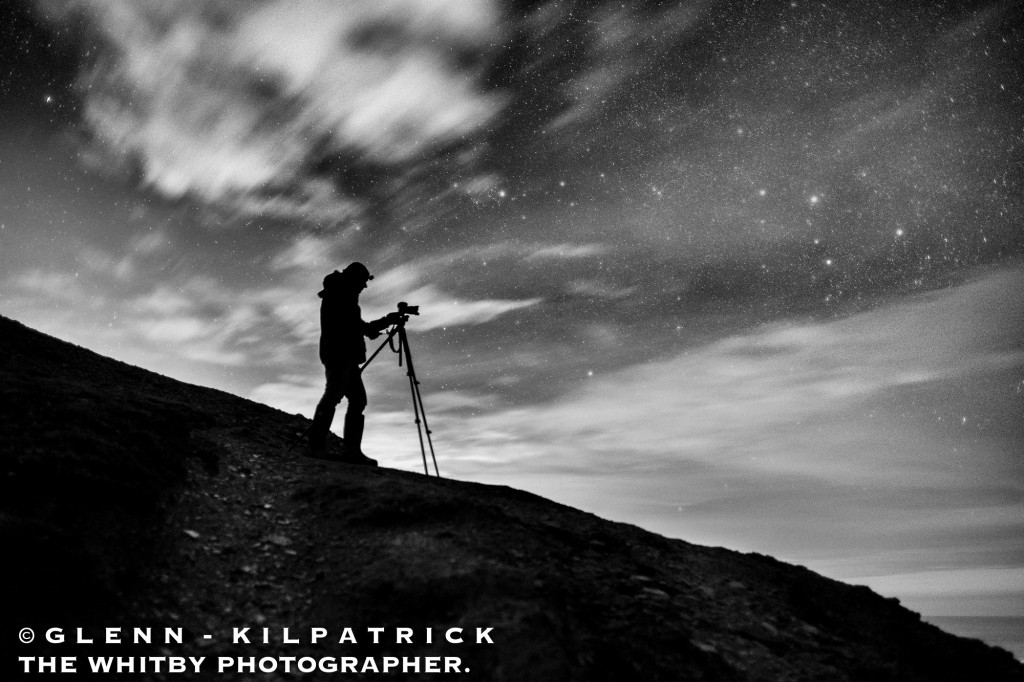 Night Photography At Saltwick Nab