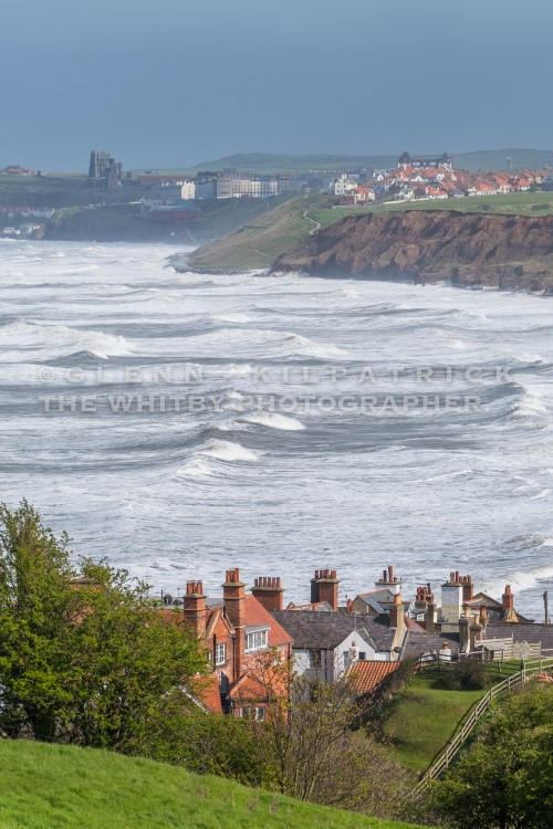 Lythe Bank View To Whitby