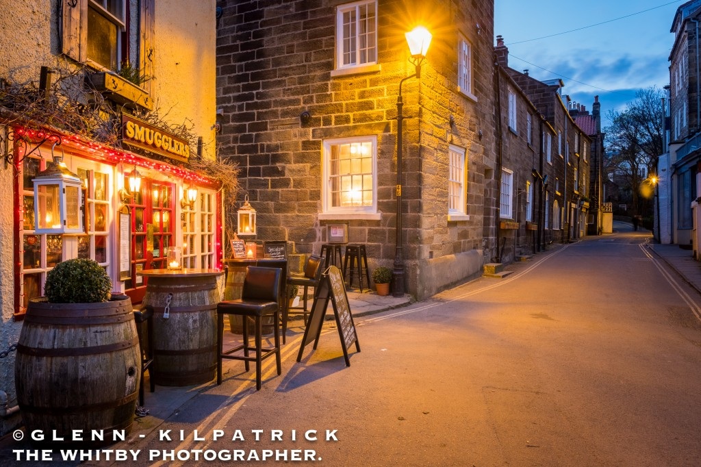 Robin Hoods Bay Smugglers Bistro And Main Street