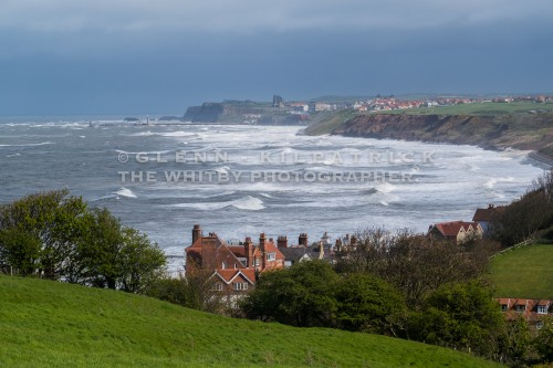 Sandsend Near Whitby Taken On A Rough Day In April 2017
