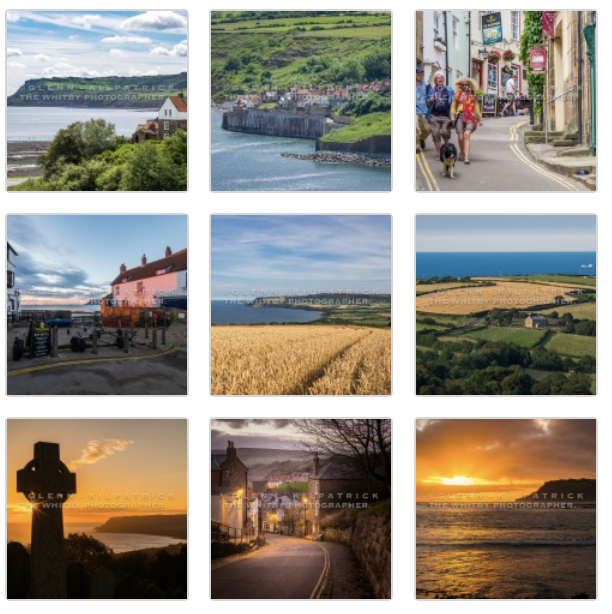 Robin Hoods Bay Greetings Cards - 10 Pack