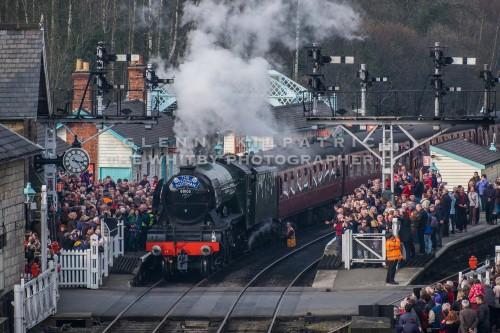 The Flying Scotsman - North Yorkshire Moors Railway